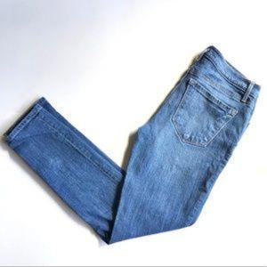 LOFT Sz 27 Medium Wash Skinny Jeans